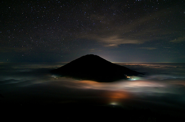 Mount merbabu is a dream
