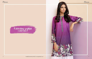 Orient summer lawn print designs for girls