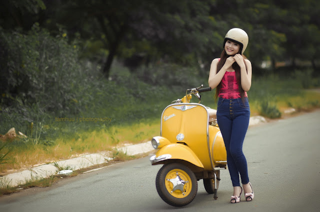 Vietnam - Good Morning Vespa. Photographie par tamhuu photography (CC)