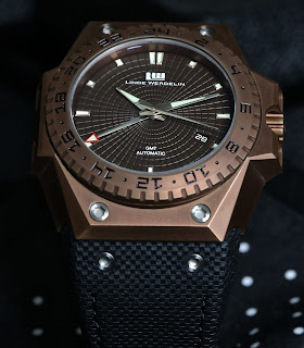 Montre Linde Werdelin 3 Timer Chocolate GMT