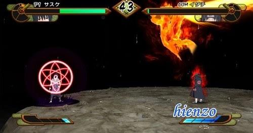 Sasuke vs Itachi (Susano'o)