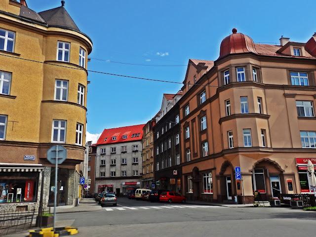 Cesky Tesin, rejon Hotelu Piast