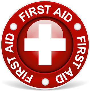 first aid in accident,cuts,burns