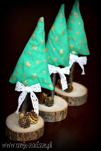 dekoracyjne choinki
