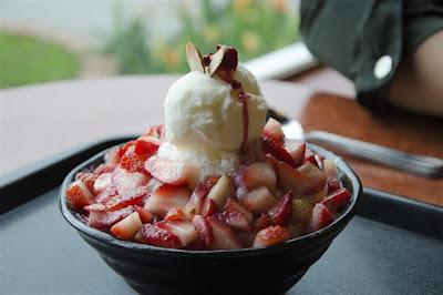 hình ảnh kem batbingsu hàn quốc