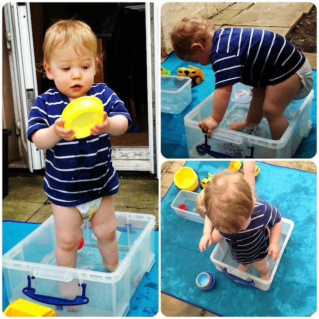 A Homemade Paddling Pool!!