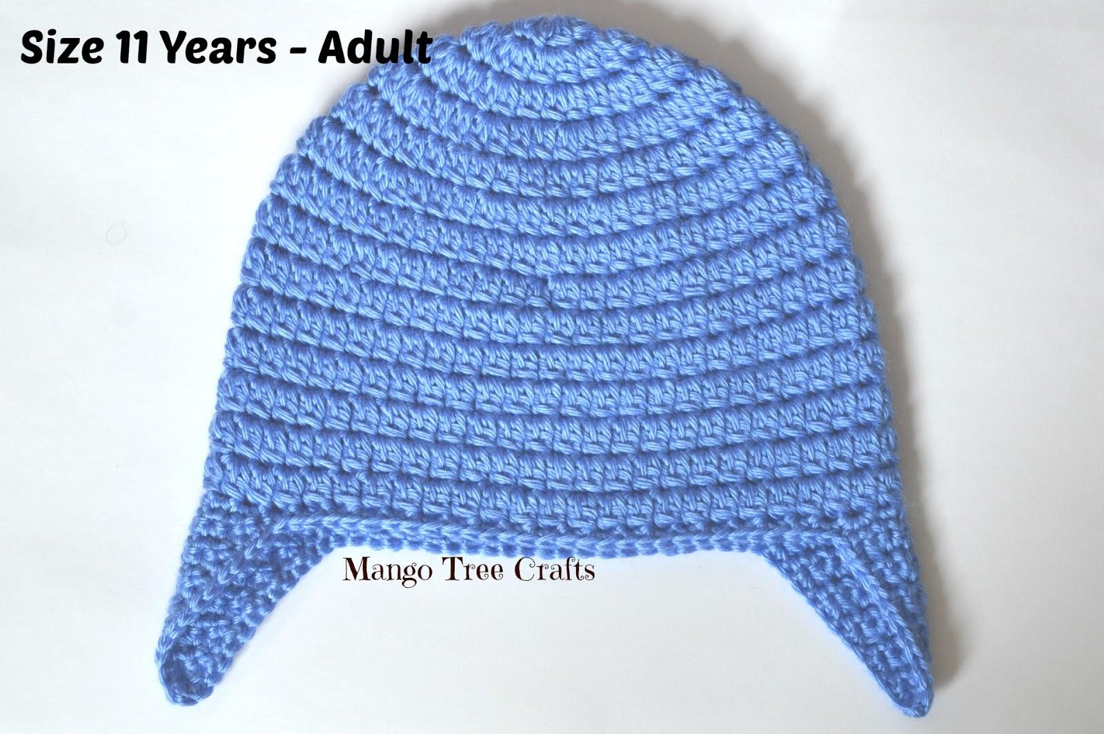 Basic Crochet Ear Flap Hat Pattern in 7 Sizes 68c8a95e048