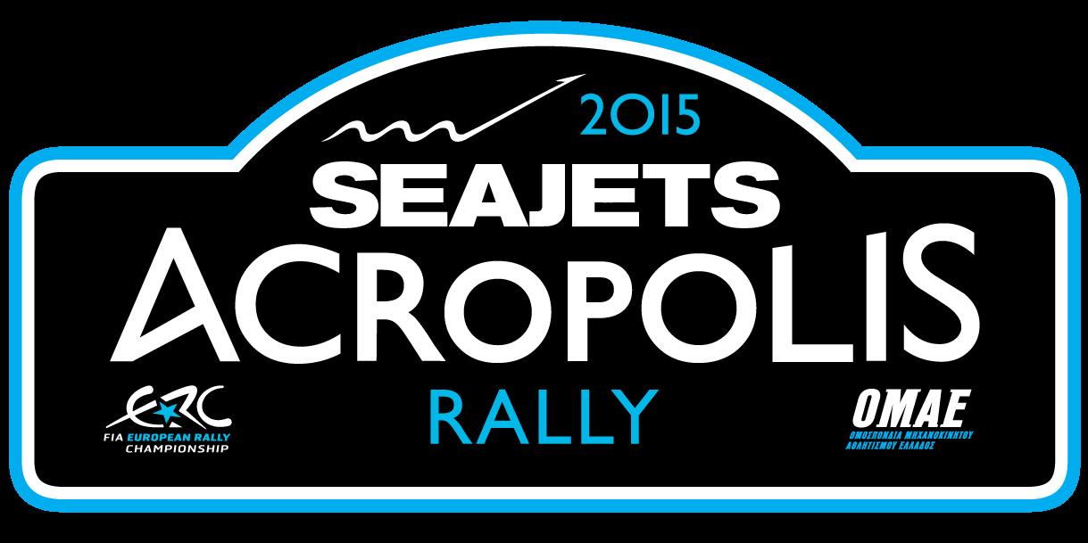 SEAJETS%2BAcropolis%2BRally%2B2015 Logo Σε 9 μέρες η έναρξη του Ράλι Ακρόπολις Rally, Rally Acropolis, Seajets rally acropolis, WRC