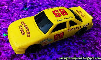 Bobby Hamilton #68 Country Time Lemonade Racing Champions 1/64 NASCAR diecast blog Neil Bonnett Rookie