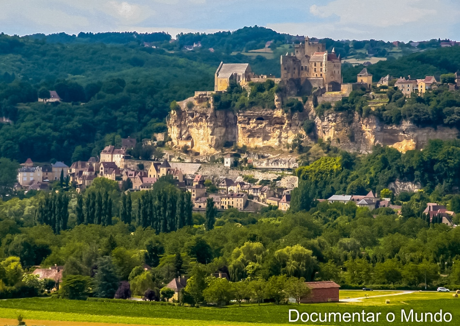 Os 1001 châteaux do Vale da Dordonha; château de Beynac