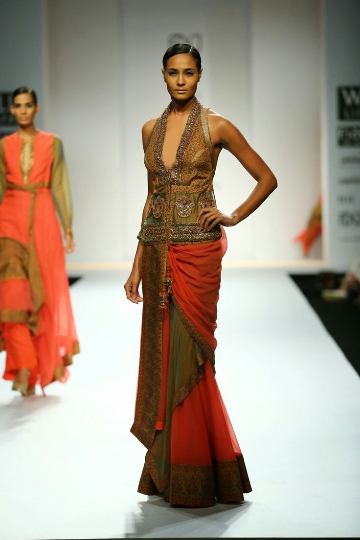 Ashima-Leena Show at Wills Lifestyle India Fashion Week ...