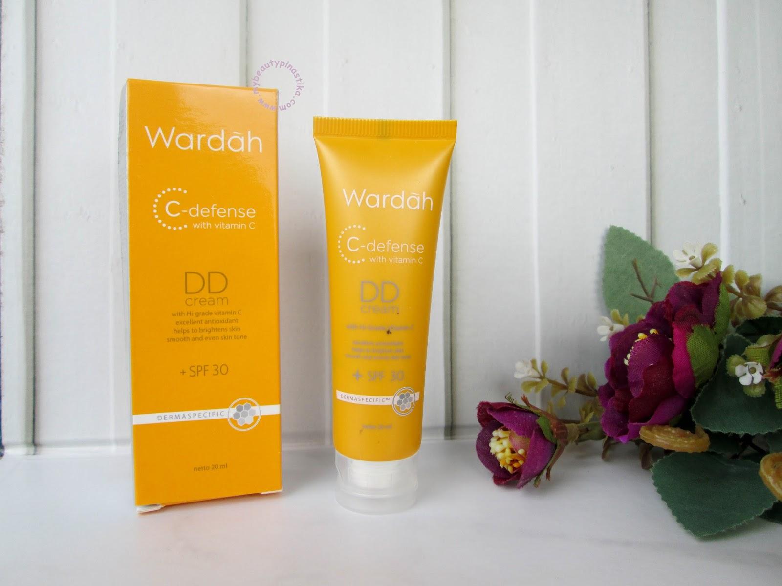 Pinastika Beauty Blog ♔: Wardah C-Defense DD Cream - Light