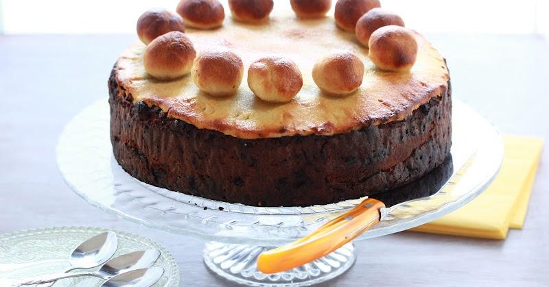 Simnel Cake Recette
