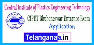 CIPET Bhubaneswar DPMT DPT Entrance 2019 Application