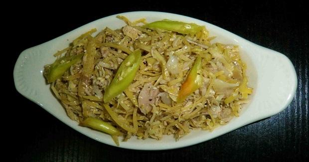 Ginisang Puso Ng Saging Recipe