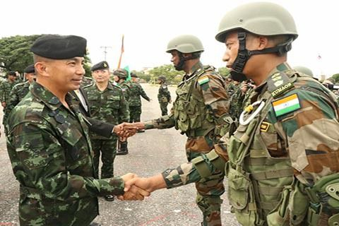 India Thailand Military Exercise