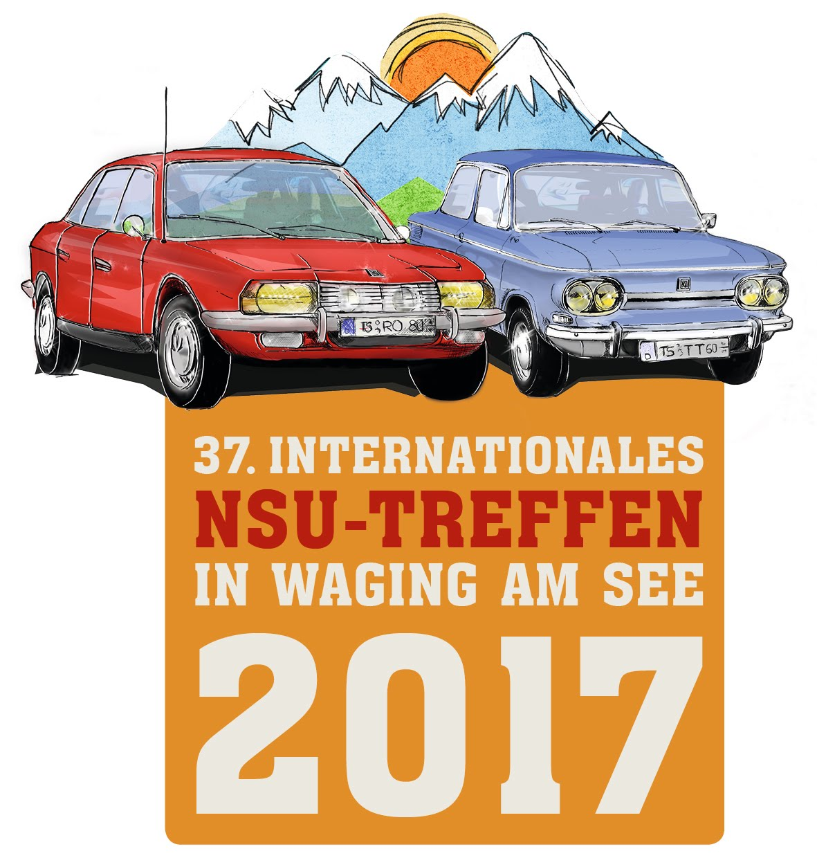 37. Internationales NSU-Treffen in Waging am See