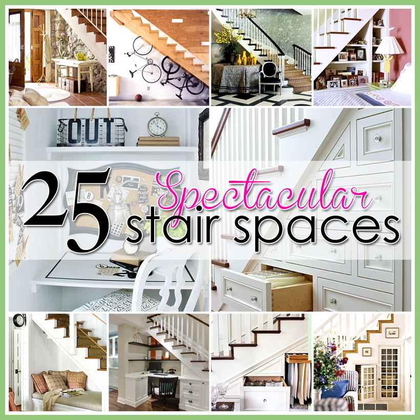25 Spectacular Stair Spaces