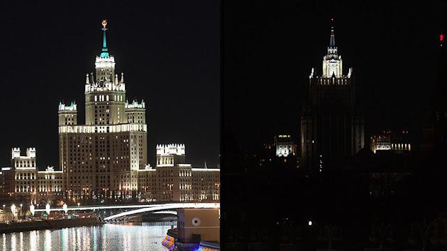 El mundo apaga las luces para celebrar la Hora del Planeta