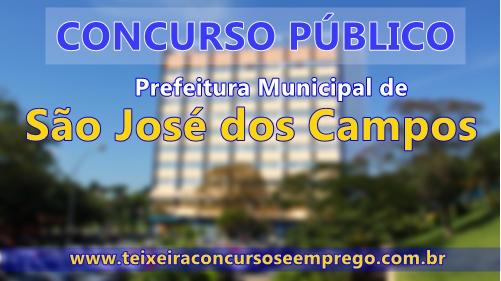 Concurso Prefeitura Municipal de São José dos Campos 2017
