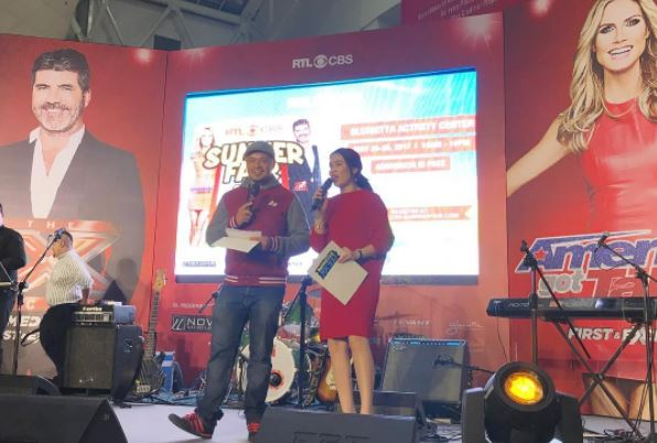 RTL CBS Entertainment kicks off the three-day Summer Fair with Monster RX93.1's Rico Robles and Karla Aguas as hosts.