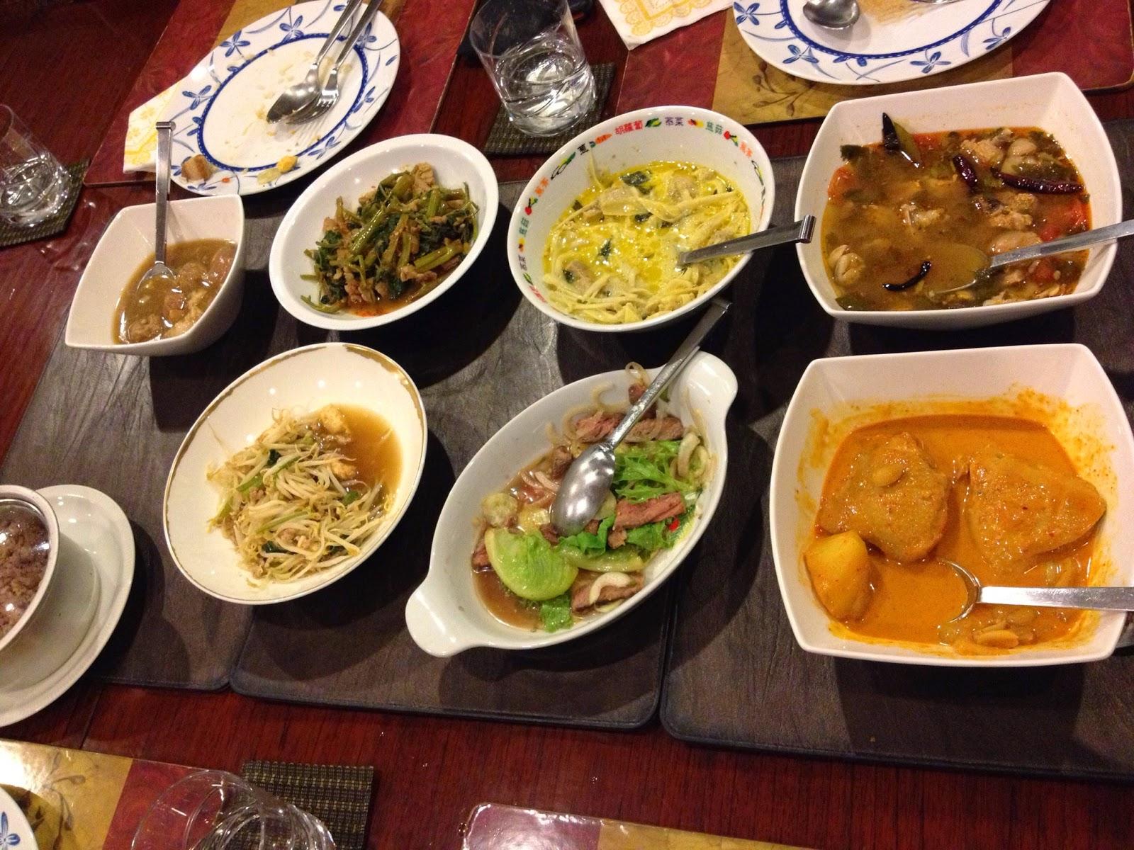 Bangkok - Home cooked meal