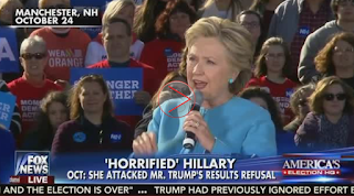 FNC Montage: Clinton Attacks Trump for Refusing to Accept Election Results