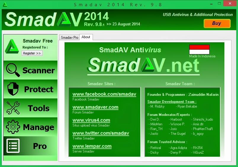 Smadav 2014 Rev. 9.8.1 Agusutus 2014