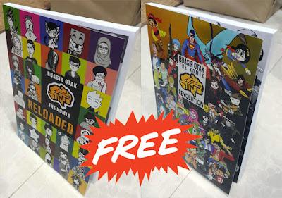 GiveAway Contest Gila #7: Saya Nak Komik Percuma!
