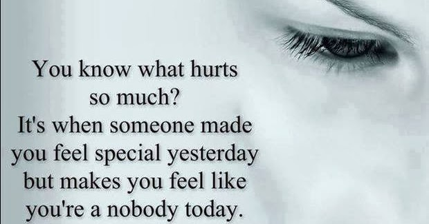 You Know What Hurts So Much? It's When Someone Made You