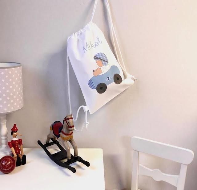 ESPECIAL VUELTA AL COLE : mochilas infantiles personalizadas