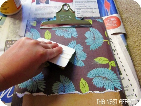 Decorated Clipboards From Start To Finish The Nesting Effect