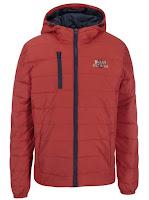 Jachetă matlasată portocalie Blend
