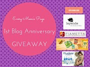 Happy 1st Blog Anniversary + INTL. #Giveaway! *closed*