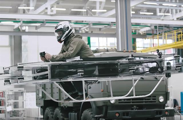 Kalashnikov flying motorcycles