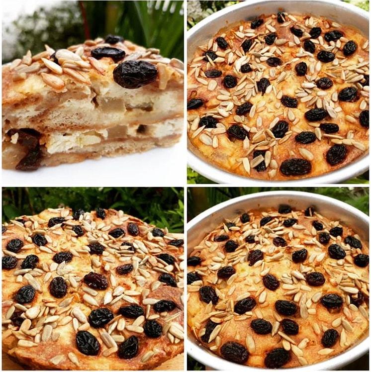 Puding Regal 3 Lapis Cream Cheese Chocolate Ver Vla Vanila