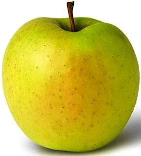 Foto de una manzana entera