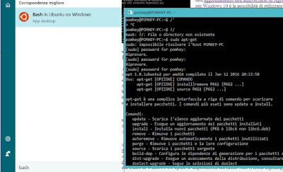 shell bash windows 10