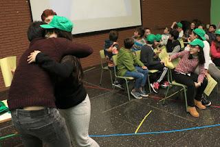 Estudiantes que han participado en el programa de ayudantes de sus compañeros