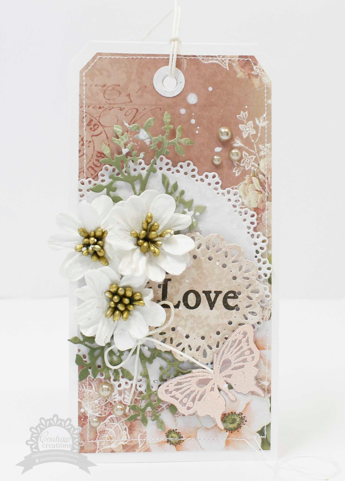 Rose Garden Creations: Neat And Crafty: Hope And Love Tags