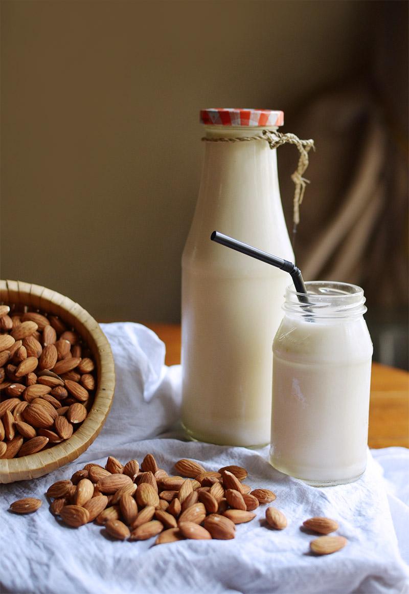 Cara Buat Susu Kurma : kurma, RESEP], Membuat, Almond, (Almond, Milk)