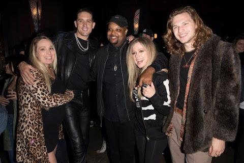 Jamil Davis celebra su cumpleaños en compañia de Avril Lavigne