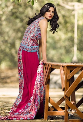 Libas Summer Embroided Lawn  Collection Shariq Textiles