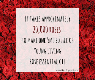 How concentrated is rose essential oil | Hot Pink Crunch