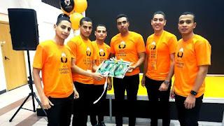 فريق الكلية الفنية العسكرية المصرية الثالث في مسابقات المنتدى الدولي للعلوم وتكنولوجيا المواد المركبة