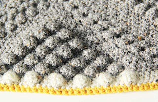 By Haafner, Drops Merino Extra Fine, gehaakt, Gehaakt/ crochet, haken, kleed, popcornstitch, Studio Mojo, Stylecraft Life DK, deken,