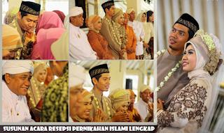 Susunan Acara Resepsi Pernikahan Islami Lengkap