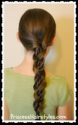 mosaic twist braid tutorial easy hairstyles  hairstyles