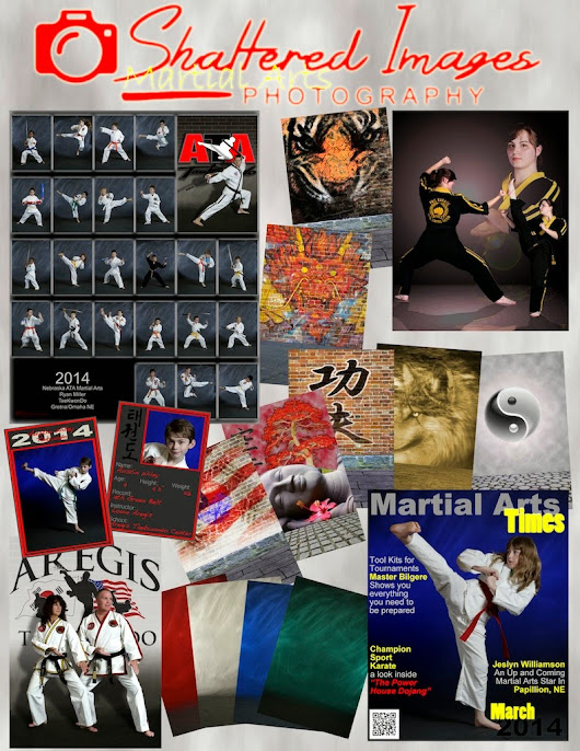 Our Martial Arts Photo Schedule for Spring 2015