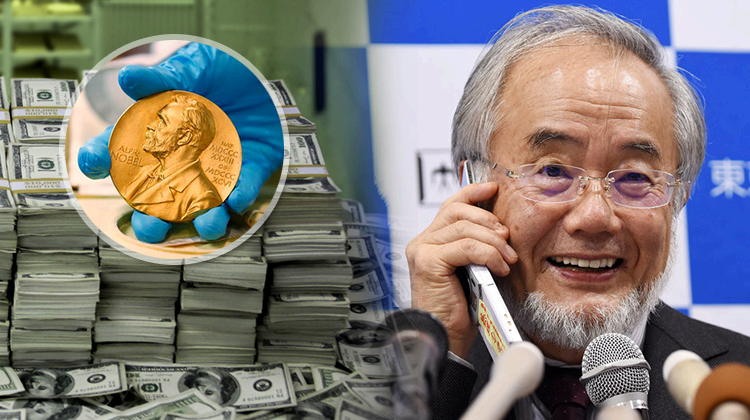 Nobel Prize won by Japanese Biologist Wins In Physiology Or Medicine